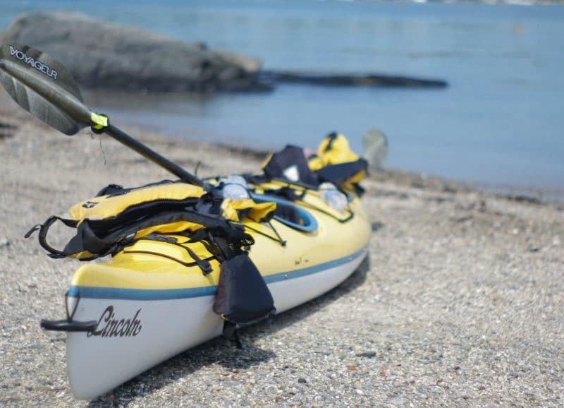 Kayak à Minorque