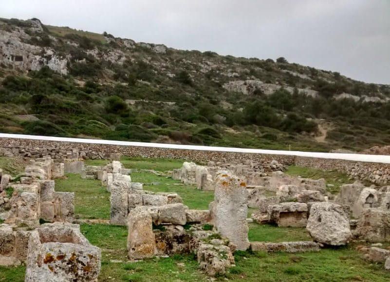 Basilique Son Bou | Basilique Son Bou Ou Comment Visiter Une église à 10 Mètres De La Plage | Visiter Minorque