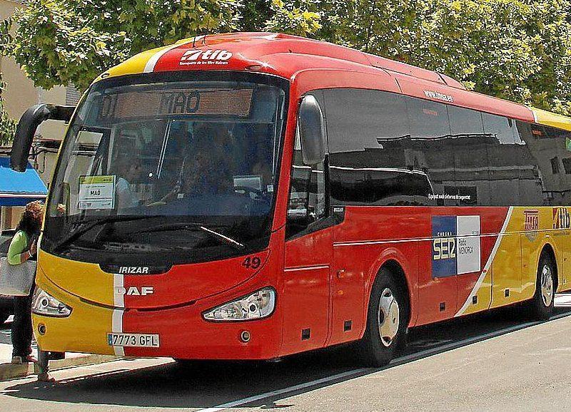 Bus mahon