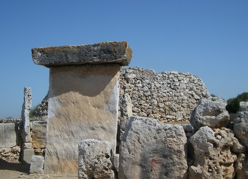 Monuments prehistorique Mahón