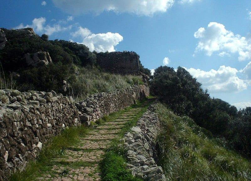 Chateau de Santa Agueda - Minorque