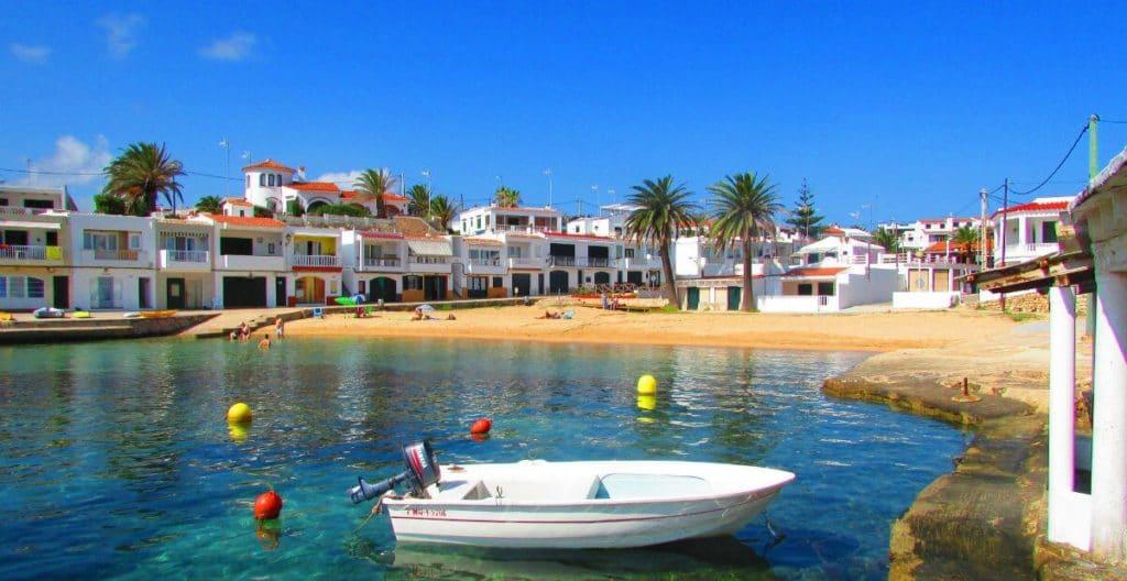 Un des villages de Minorque