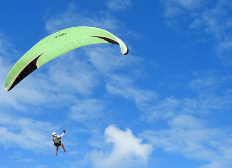 Parapente Monte Toro   Le Guide Des Activités Sportives De Minorque   Incontournables Minorque