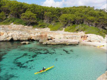 kayak minorque