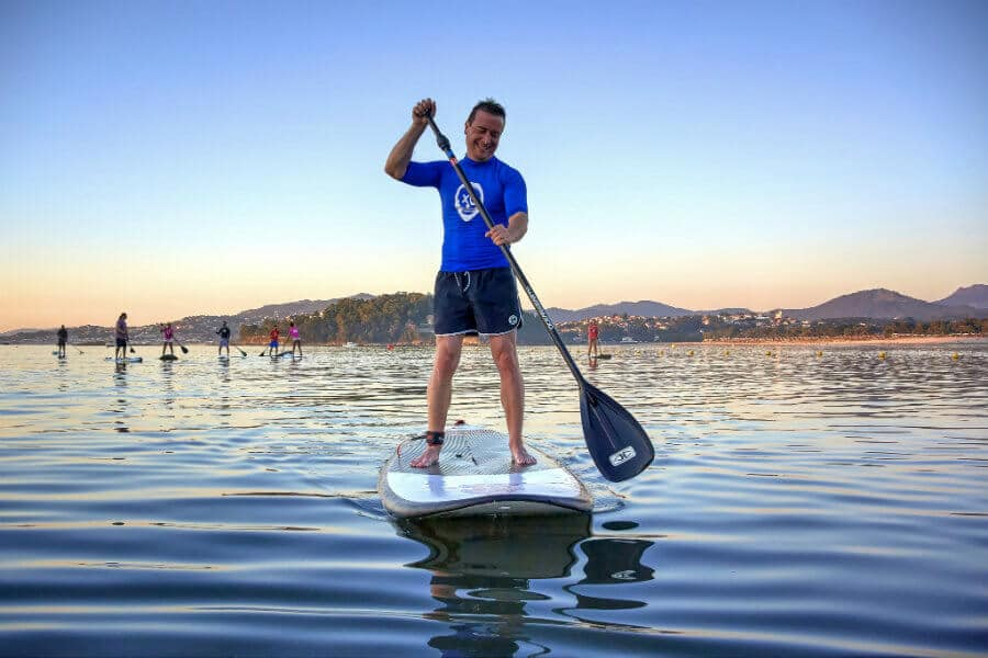 Paddel surf à Minorque