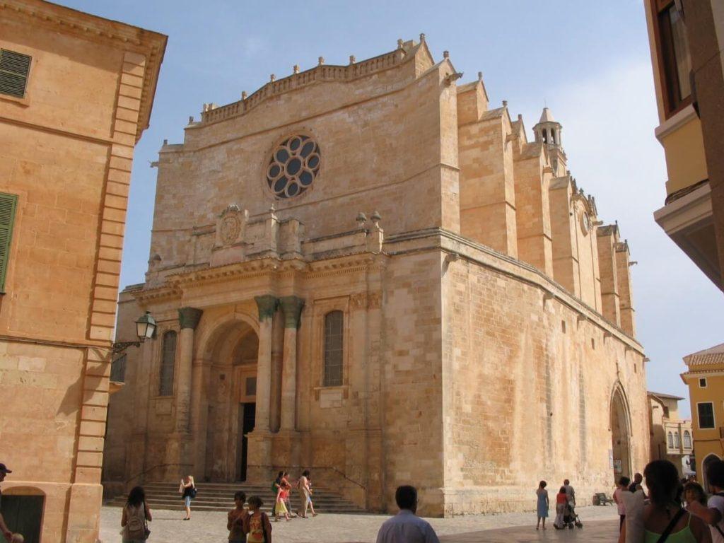 La cathédrale de Ciutadella.