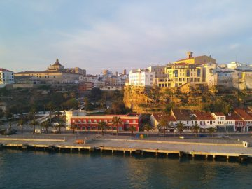 port de mahon , ses voltes