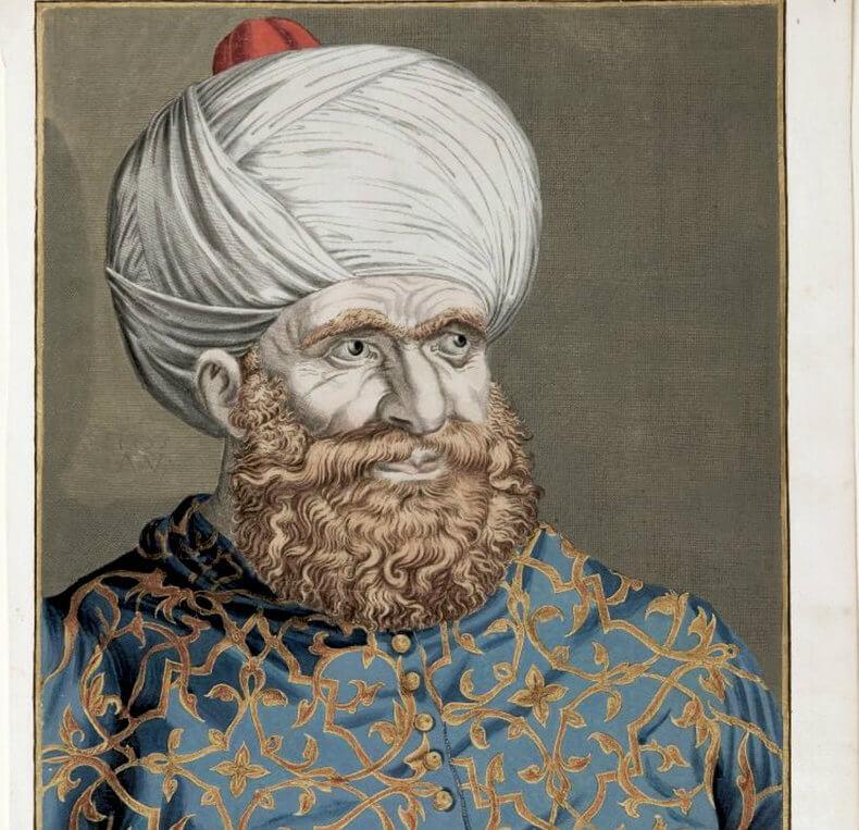 Barberouse, le corsaire qui dévastât l'ile de Minorque.