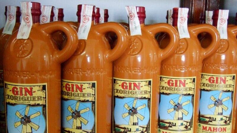 Gin Xoriguer, la boisson typique des minorquins