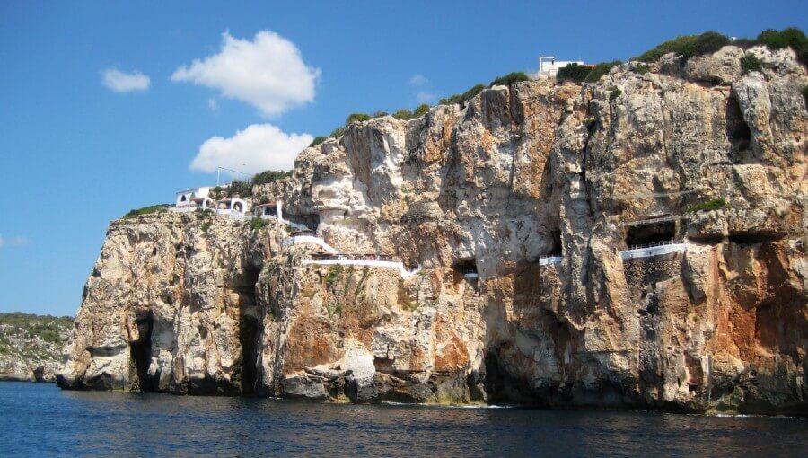 Cova d'en Xoroi,  un bar / grotte spectaculaire