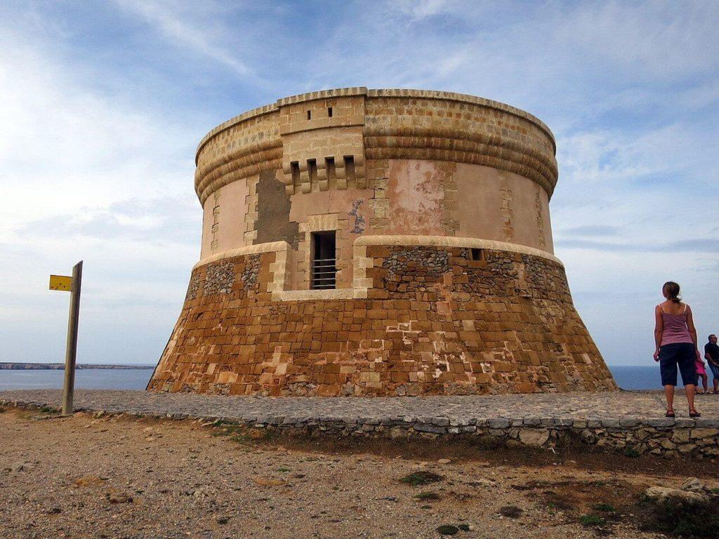 La tour de Fornells, des vues spectaculaires