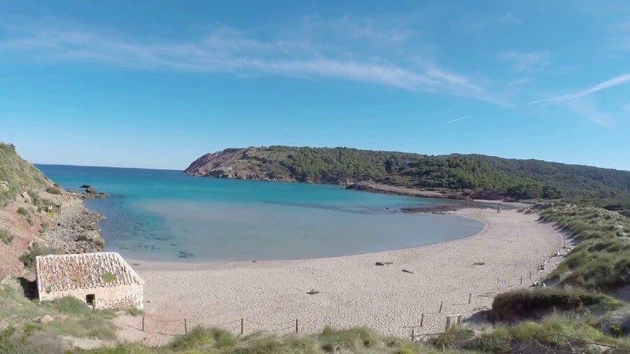 algaiairens (ou la vall) , une des plus belles plage de l'ile de Minorque