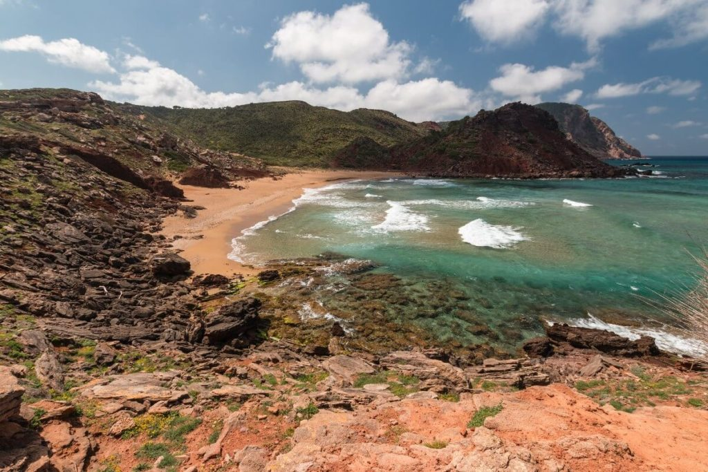 La plage vierge de cala Pilar