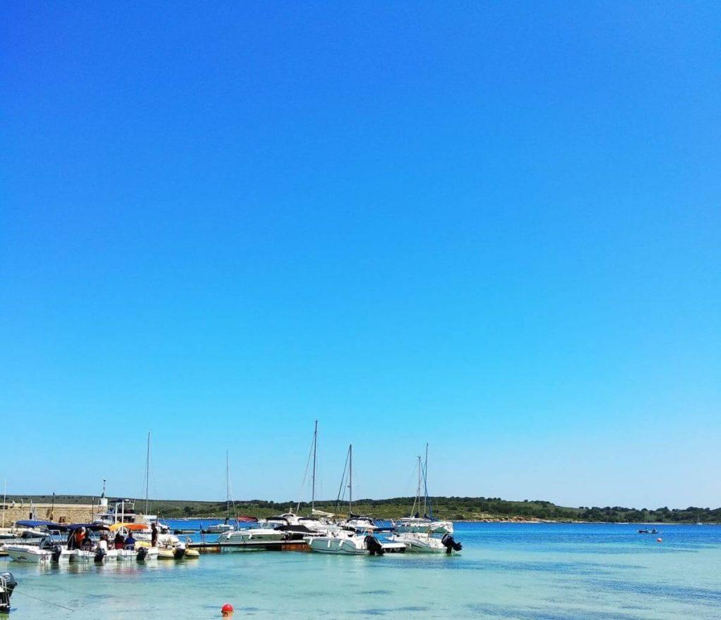 Le port de Fornells