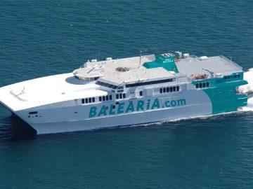 Le superfast ferry assure la liaison Barcelone Minorque en 3 h 30