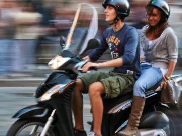 scooter minorque