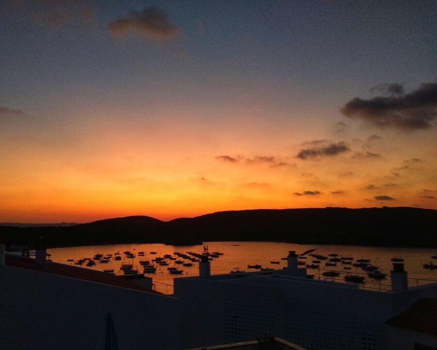 Couche de soleil à Minorque