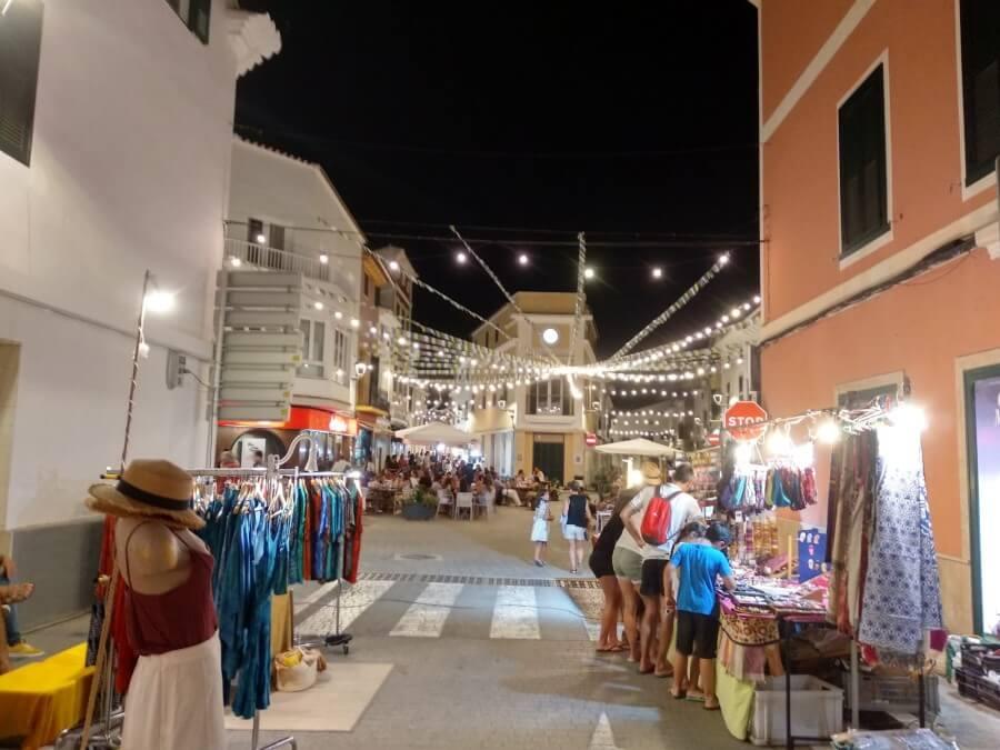 Un des plus beaux marché de Minorque