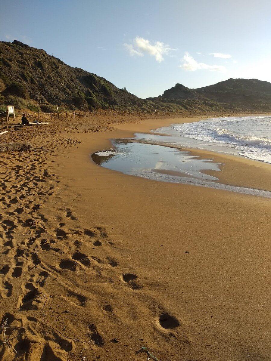 plage de Cavalleria à Es Mercadal