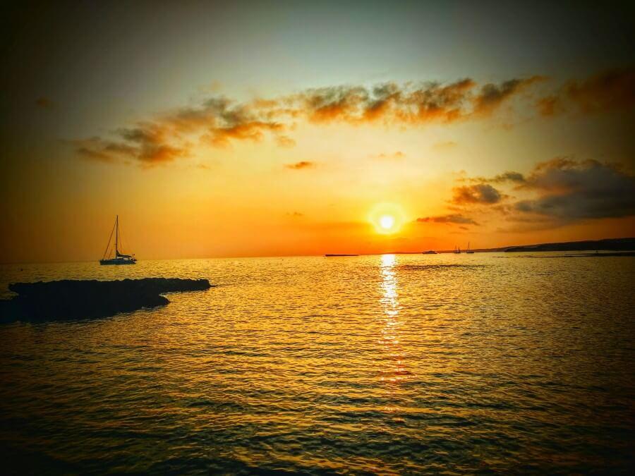 Coucher de soleil à Minorque