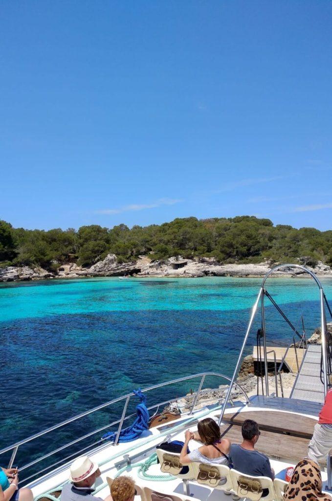 Excursion en bateau à Minorque