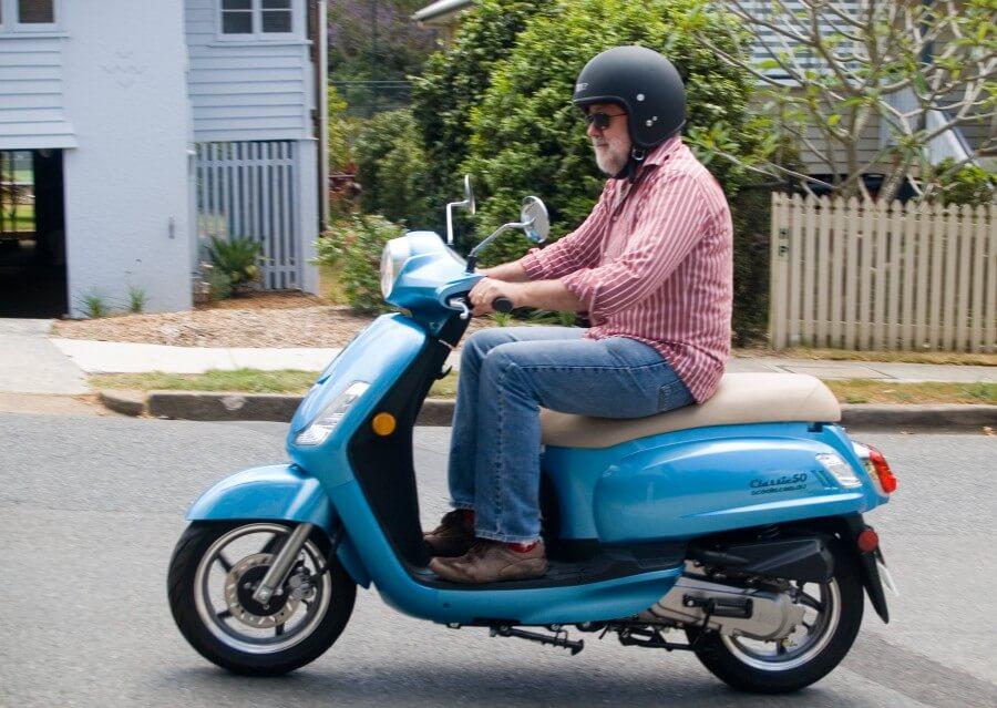 Scooter, parfait pour les couples