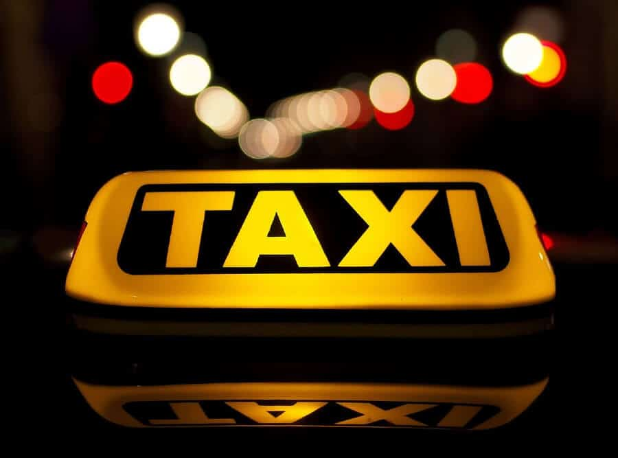 Taxi à Minorque