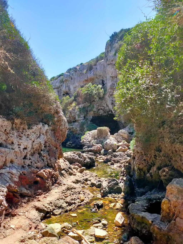 Cala De Rafalet Minorque | Cala Rafalet (s'algar- Menorca), La Crique Cachée De Sant Lluis | Plages Minorque