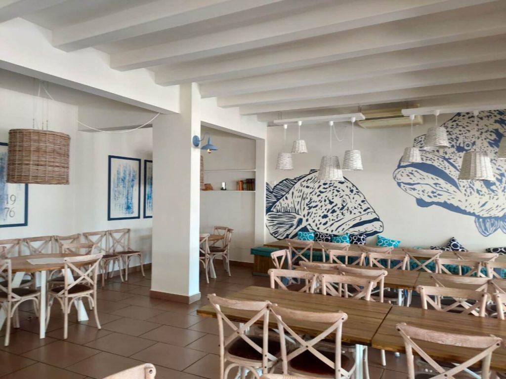 Can Santi, un espace sympa, méditerranéeen, rénové début 2020