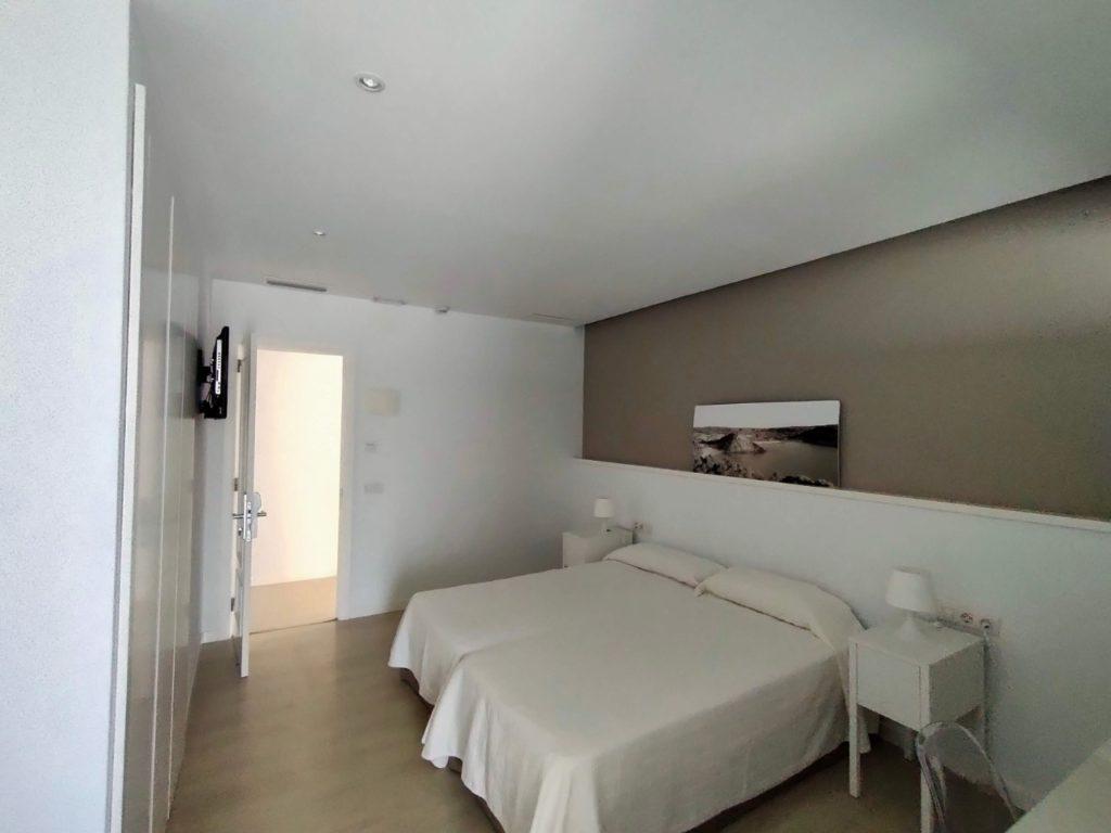 Vue autre chambre Hostal La Palma