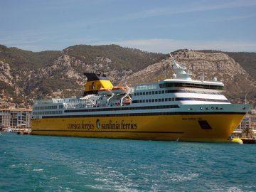 Ferry toulon Minorque avec Corsicaferries