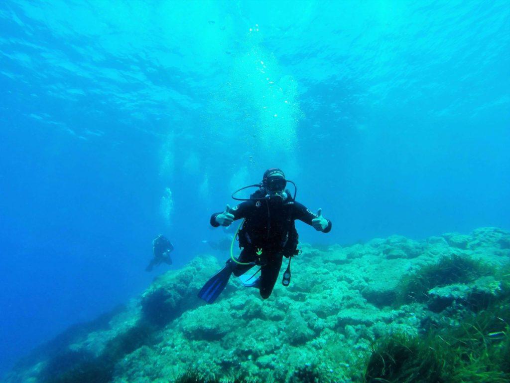 Diving Fornells