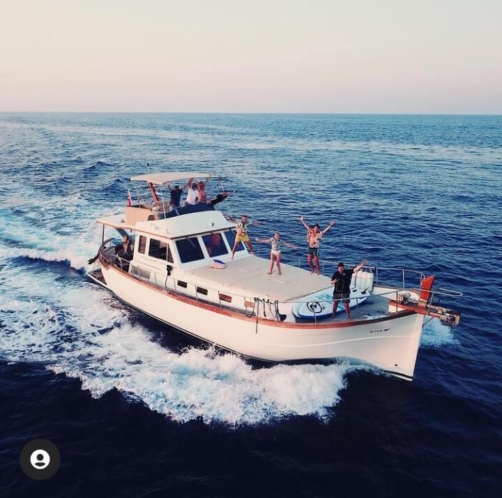 Yacht Minorque
